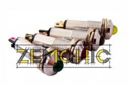 Фото арматуры светосигнальной AD22B-8 белая