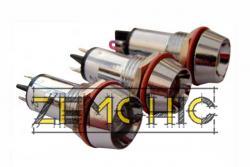 Фото арматуры светосигнальной AD22C-12 красной