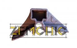 Фото Башмак тормозной колодки 100.40.016-2 (8ТН.143.108)