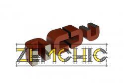 Броневой магнитопровод  ШЛМ 20X25 фото1