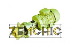 Электронасос циркуляционный типа ЭНЦ-1,7/1,5 фото1