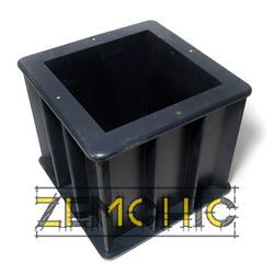 Форма куба 1ФК-100 пластиковая - фото