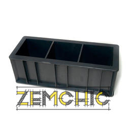 Форма куба 3ФК-100 пластиковая - фото
