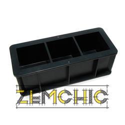 Форма куба 3ФК-70 пластиковая - фото