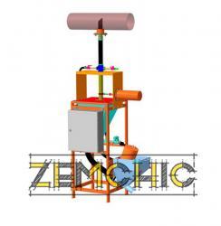 Установка для измерения крупности частиц «ПИК-074П»