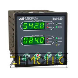 Двухканальный микропроцессорный индикатор ИТМ-120У фото №1
