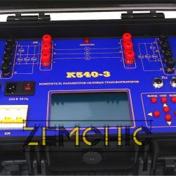 Измеритель параметров силовых трансформаторов К540-3 фото 4