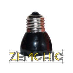 Фото керамической инфракрасной лампы 75Вт 45мм