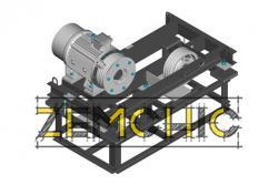 Лифтовая лебедка ЛЛБ-06