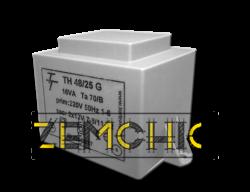 Фото Малогабаритный трансформатор для печатных плат ТН 48/25 G