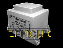 Фото Малогабаритный трансформатор для печатных плат ТН 66/30 G