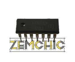 Микросхема УР1101СК03 (LM393)