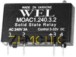 Твердотельно реле MOAC1, MOAC2