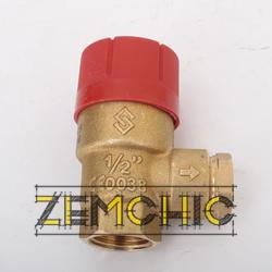 Prescor 3 bar 1/2 предохранительный клапан - фото №4
