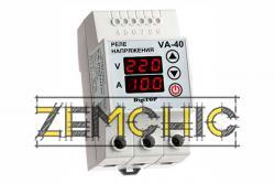 Фото реле с контролем тока VA-protector 40A