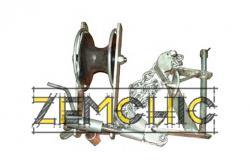 Ролик монтажный оконечный РМО-2-650