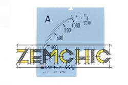 Фото шкалы 1000/5А к амперметру А-72-6