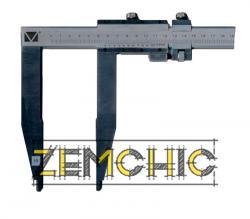 Штангенциркуль с длиной губок 200 мм (ШЦ-ІІІ)