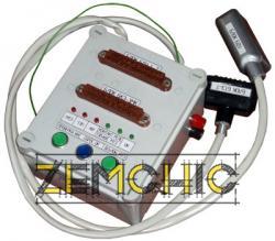Переходное устройство для настройки и проверки блоков комплексной защиты от аварийных режимов работы сети БКЗ-3МК и блоков дистанционного управления БДУ4-2