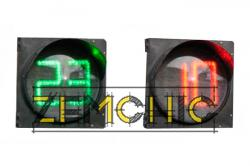 Табло отсчета времени ТВЧ-200(300)-КЗ-АТ фото1