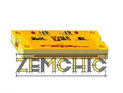 Усилитель СВЧ транзисторный малошумящий миллиметрового диапазона
