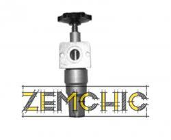 Вентиль с обратным клапаном П-МК07