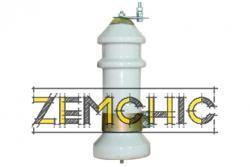 Вентильный разрядник РВО-6
