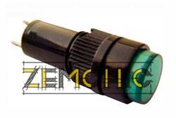 Фото арматуры светосигнальной NXD-211 зеленой