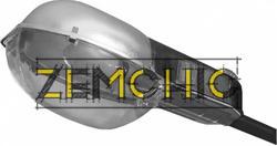 Фото светильник консольный РКУ 16-250