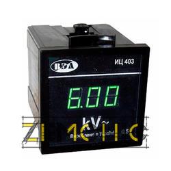 Киловольтметр щитовой с цифровой индикацией ИЦ403 - фото