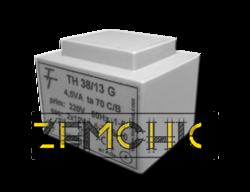 Фото Малогабаритный трансформатор для печатных плат ТН 38/13 G