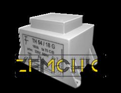 Фото Малогабаритный трансформатор для печатных плат ТН 54/18 G