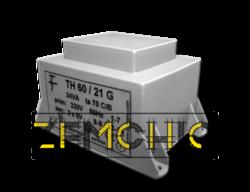 Фото Малогабаритный трансформатор для печатных плат ТН 60/21 G