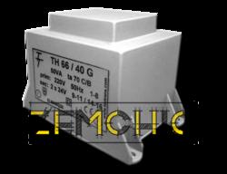 Фото Малогабаритный трансформатор для печатных плат ТН 66/40 G