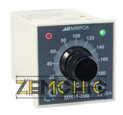 Двухпозиционный температурный регулятор МИК-1-200