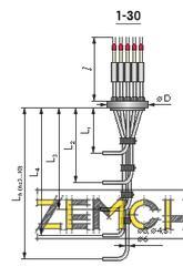 Многозонный термопреобразователь (термоподвеска) фото 1
