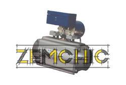 Пневмопривод поворотный цилиндрический DE фото1