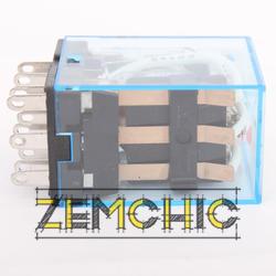 Промежуточное электромагнитное реле MY3 (DC 24 V) - фото №2