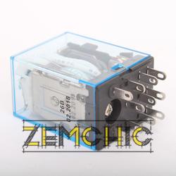 Промежуточное электромагнитное реле MY3 (DC 24 V) - фото №3