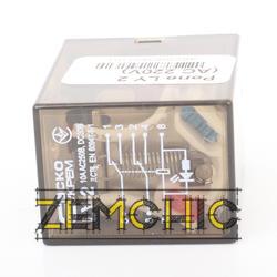 Реле LY2 (220 V) - сбоку