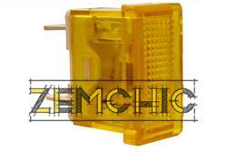 Фото сигнальной арматуры YL238-03 желтой