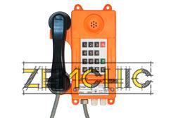 Аппарат телефонный общепромышленный ТАШ-ОП-IP фото1