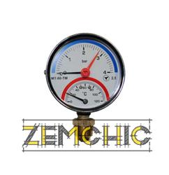 Фото Термоманометры (радиальные) МТ-80ТМ-Р