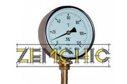 Фото термометра ТБП 100/100/Р (-0-120)С