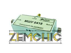Усилители СВЧ транзисторные малошумящие широкополосные МШУ 0418