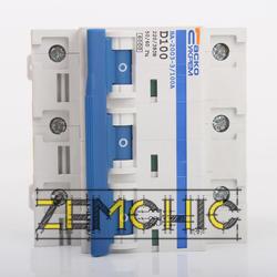 Выключатель автоматический модульный УКРЕМ ВА-2003 3р 100А АсКо - фото 1