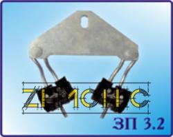 Зажим подвесной угловой ЗП 3.2 фото 1